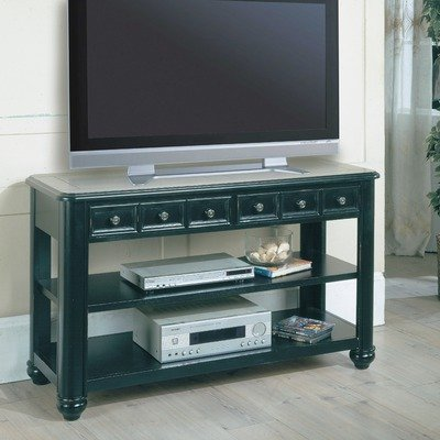 Cheap 50″ TV Stand in Vintage Black (TAB17-07)