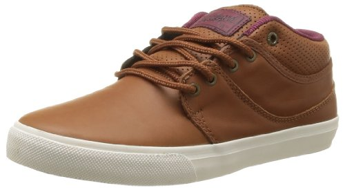 Globe Men's Mahalo Mid Skateboarding Shoes Brown Marron (16215) 40