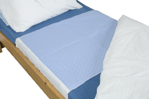 NRS Washable Bed Incontinence Protection Pad, Size: 85 x 90cm (33.5 x 35.25