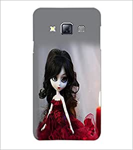 PrintDhaba Cute Doll D-1069 Back Case Cover for SAMSUNG GALAXY A3 (Multi-Coloured)