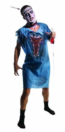 Rubie's Costume Zombie Patient Costume, Blue, Standard