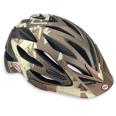 Bell Variant Helmet Large 59 - 63 cm, Matt Brown / Gold Blocks