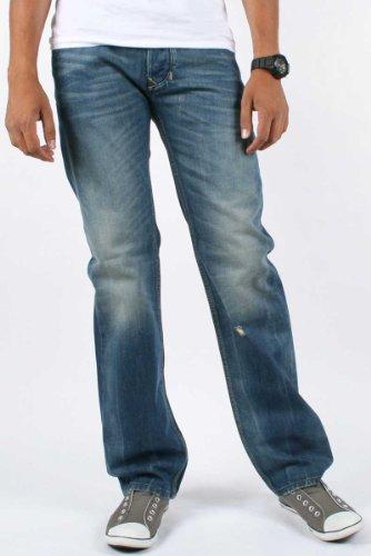 Diesel - Mens Larkee 802E Denim Jeans, Size: 31W x 32L, Color: Denim