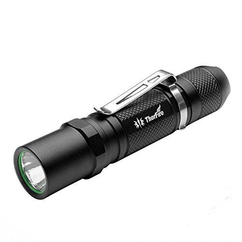 ThorFire 小型軽量懐中電灯 TG06 (300ルーメン 3モード )単3または14500電池使用 防災 アウトドア