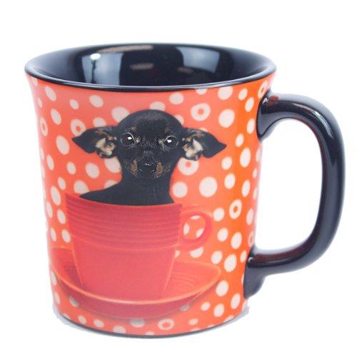 Keith Kimberlin Black Dachshund Coffee Mug