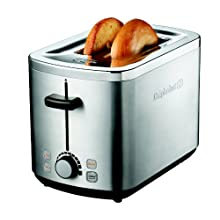 Calphalon 2 Slot Stainless Steel Toaster