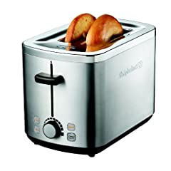 Calphalon 2 Slot Stainless Steel Toaster by Calphalon