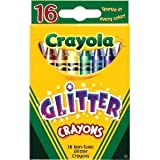 Glitter Crayons 16-Pack