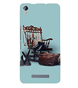 PrintVisa Cool Boy 3D Hard Polycarbonate Designer Back Case Cover for Micromax Juice 3 Plus