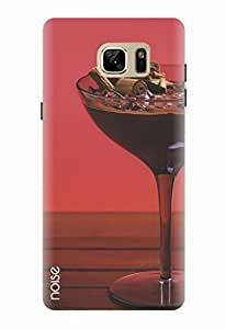 Noise Designer Printed Case / Cover for Samsung Galaxy Note7 / Graffiti & Illustrations / Chocolate wine Design