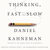 Thinking, Fast and Slow | [Daniel Kahneman]