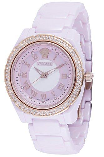 Versace-Womens-63QCP5D111-SC11-DV-One-Glamour-Analog-Display-Quartz-Pink-Watch