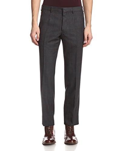 Valentino Men's Glen Plaid Trousers