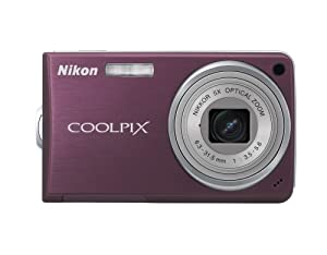 Nikon Coolpix S550 10MP Digital Camera with 5x Optical Zoom (Plum)