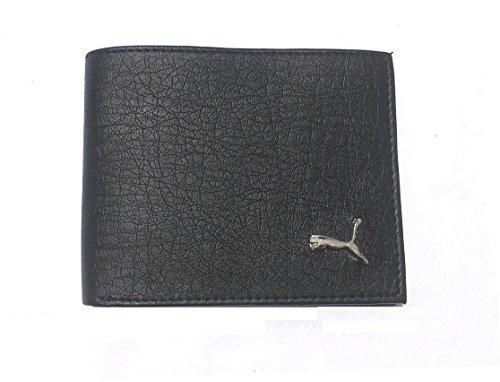 Puma Black Leather Wallet