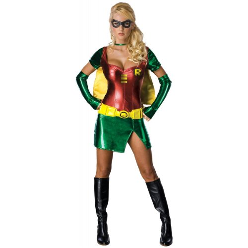 Sexy Robin Adult Costume (As Shown;Medium) at Gotham City Store