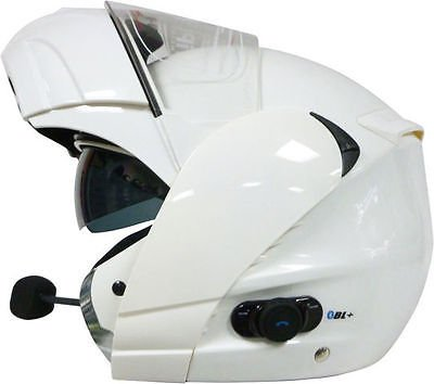 Viper RSV131 Bluetooth Flip Up casque de moto blanc
