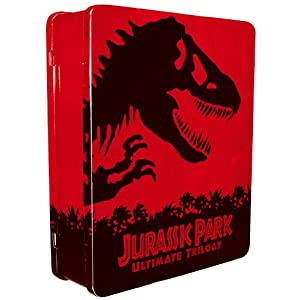 41hP389XlmL. SL500 AA300  [Amazon UK] Jurassic Park Ultimate Trilogy   Limited Collectors Edition [Blu ray] für ca. 34,99 Euro inkl. Versand