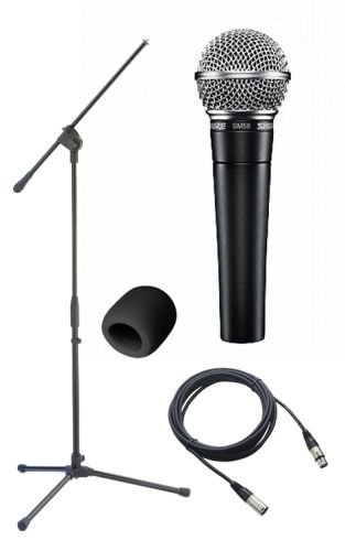 Shure SM58S Classic Mic Pack  On-Off Switch