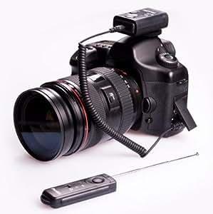 Cleon II Télécommande sans fil jusqu'à 100m C8 pour Canon EOS 1V /3 / 1D / 1Ds / 1DS Mark II / 1Ds Mark III / 1D Mark II / 1Ds Mark III 10D / 20D / 30D / 40D / 50D / 5D / 5DMkII / 7D