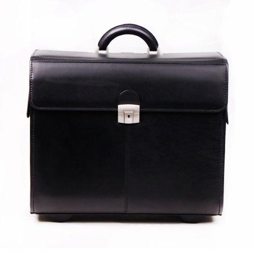 Leder-Pilotenkoffer exclusiv / Koffer aus Leder