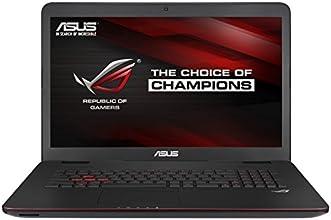 """Asus ROG  G741JW-T7101H PC Portable Gamer 17,3"""" Noir (Intel Core i7, 16 Go de RAM, Disque dur 1 To + SSD 128 Go, Nvidia GeForce GTX960M, Mise à jour Windows 10 gratuite)"""