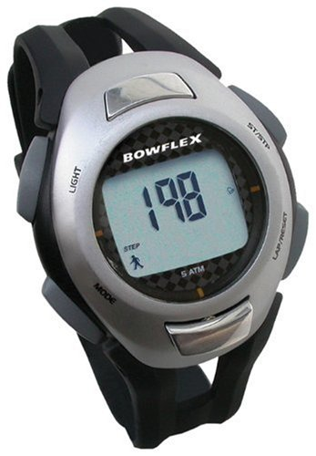 Bowflex Fit Trainer Plus Strapless Heart Rate Monitor - Black/Silver
