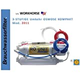 3-Stufige Umkehr Osmose Umkehrosmose Anlage der Marke US WORKHORSE RO UNIT Spezialpreis nur für die nächsten Tage...