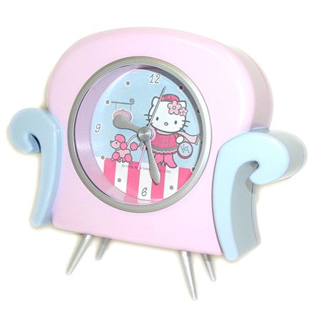 Desk Hello Kitty Alarm Clock