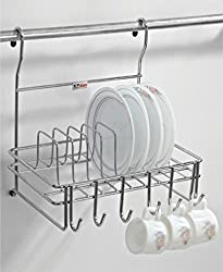 Lifetime Wire Products Hanging Cup and Saucer (Without Rod)