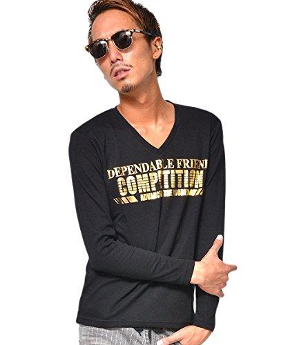 (JOKER Select) ロンt ロングtシャツ メンズ 長袖 tシャツ 黒 春