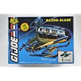 GI Joe Battle Corps Razor Blade Vehicle Ultimate Attack Helicopter Vintage 1994