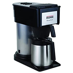 Bunn Coffee Maker Not Enough Water : Amazon.com: BUNN BT Velocity Brew 10-Cup Thermal Carafe Home Coffee Brewer, Black: Drip ...