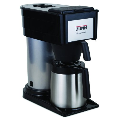 BUNN BT Velocity Brew 10-Cup Thermal Carafe Home Coffee Brewer, Black Best Deals