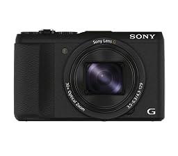 Sony DSC-HX60V/B 20.4 MP Digital Camera with 30x Optical Image Stabilized Zoom, 3\