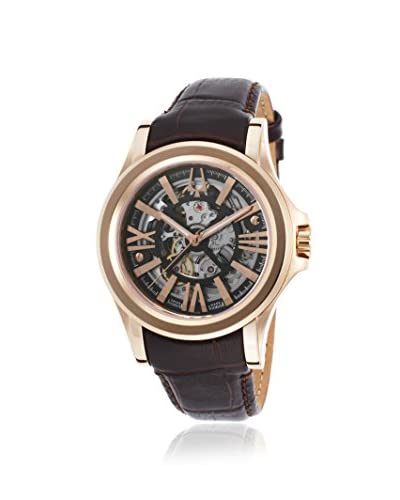 Accutron by Bulova Men's 64A103 Kirkwood Dark Brown/Brown Leather Watch