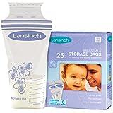 Lansinoh 20435 Breastmilk Storage Bags, 25-Count Box