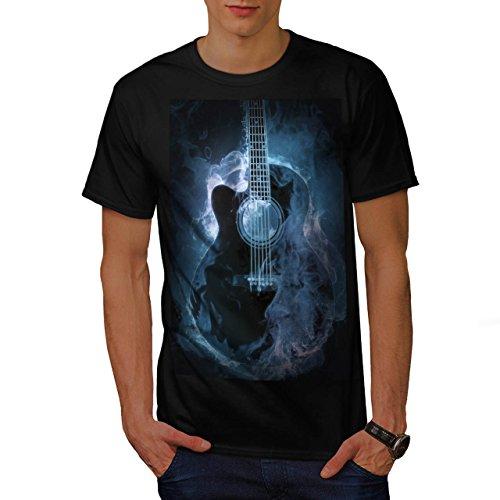 classic-fire-guitar-hot-music-men-new-black-xl-t-shirt-wellcoda