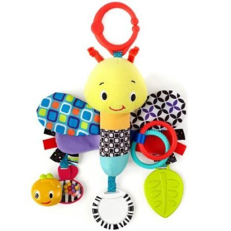 Bright Starts Start Your Senses Sensory Plush Pals, Dragonfly
