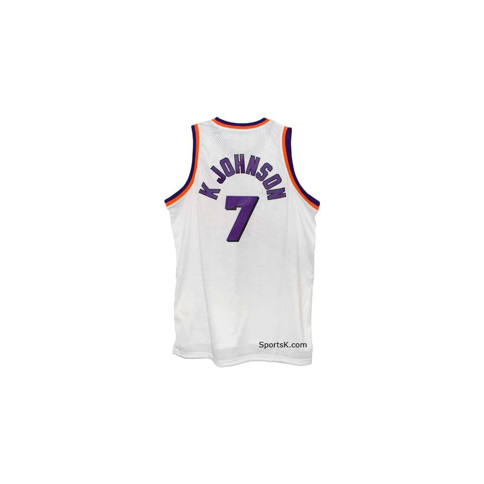 premium selection 5356e 08a06 Suns Kevin Johnson Throwback Jersey (Size 3X Only) on PopScreen