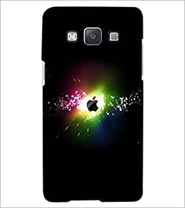 PrintDhaba Apples D-2373 Back Case Cover for SAMSUNG GALAXY E5 (Multi-Coloured)