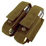 Condor Double 40mm Grenade Pouch - Coyote - MA13-498 - New - MOLLE PALS