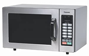 Panasonic NE-1054F NSF Approved 0.8 cuft Stainless Steel Commercial Microwave Oven, 1,000... by Panasonic