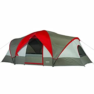 Wenzel Great Basin 18&#39x10&#39 3 Room 10 Person Tent by Wenzel