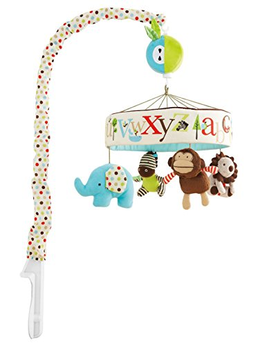 Baby Musical Toys Crib Dreams Mobile, Animal Friends - 1