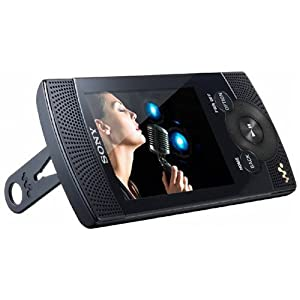 Sony Walkman NWZS 545 MP3-/Video-Player 16 GB (6,1 cm (2,4 Zoll) Farb-Display, UKW Radio, Mikrofon) schwarz