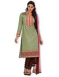 Indian Ink Women's Crepe Straight Salwar Suit Sets