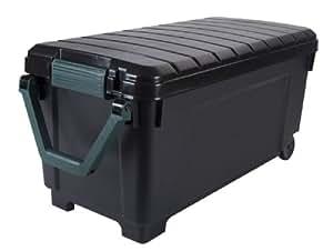 ... Heavy Duty Rolling Tote - 42.25 Gallon - Lidded Home Storage Bins