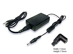 100V-240V (Input), 19V (Output), 4.74A(Output Current), Replacement Laptop AC Adapter for DELL Inspiron 1100, 3700, 3800, 5100, 8000, DELL Latitude C840