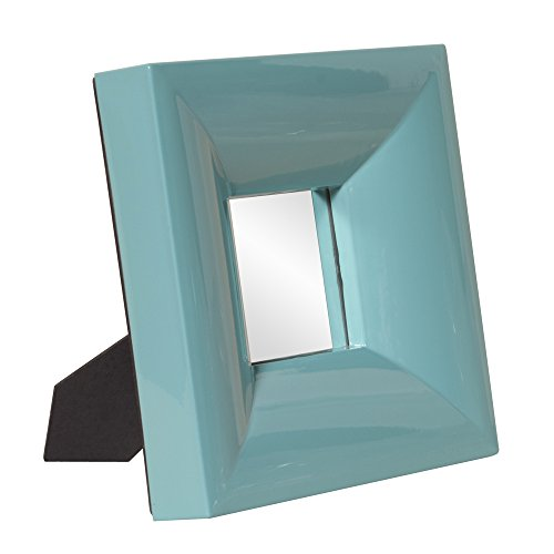 Howard Elliott 78003 Candy Table Top Mirror, Teal front-1069330